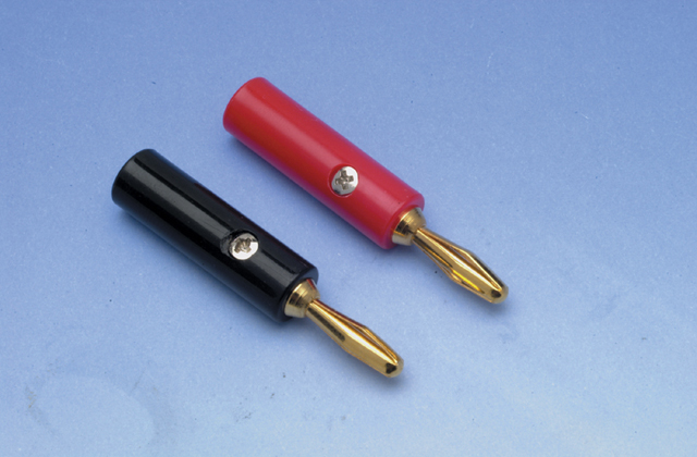 Liberty ZB02 14/18 AWG Banana Plug Pair, Gold
