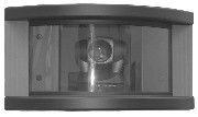 In-wall Camera Enclosure for Sony EVI-D100 PTZ Cameras, Black