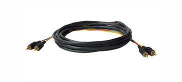 Kramer CP-2RAM/2RAM-25 25ft 2 RCA (M-M) Stereo Audio Plenum Cable