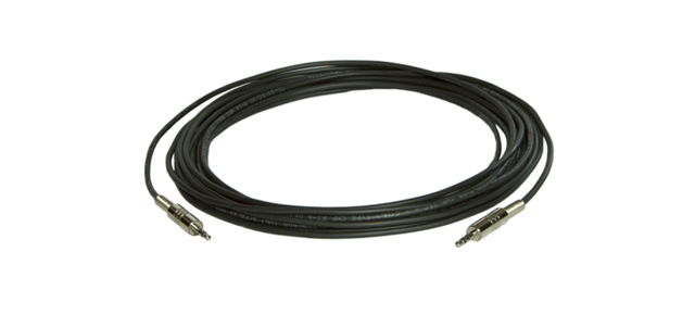 35ft 3.5m Male to 3.5mm Male Stereo Audio Plenum Cable