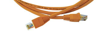 25ft RJ-45 (M) to RJ-45 (M) Ultra Low-Skew UTP Plenum Cable