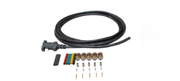 Kramer CP-GM-100-5BMKIT 100ft 15-Pin HD (M) to 5 BNC (M) Plenum Breakout Cable Kit