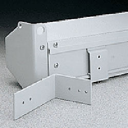 Da-Lite 77027 Floating Mounting Bracket - White