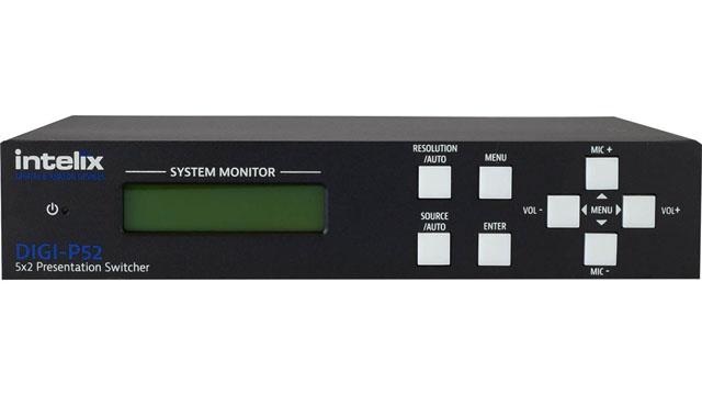 Liberty Intelix DIGI-P52 Presentation Switcher - 5 Input x 2 Output