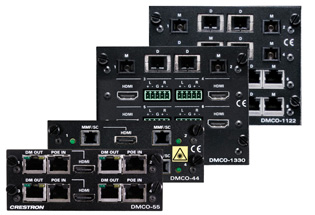 Crestron DMCO-88 DigitalMedia™ Switcher Output Cards