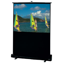 Draper 230107 Traveller Portable Projection Screen 80in