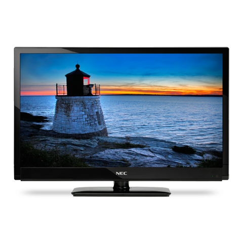 42-inch LED-Backlit, Commercial-Grade Large-Screen Display with Integrated Tuner