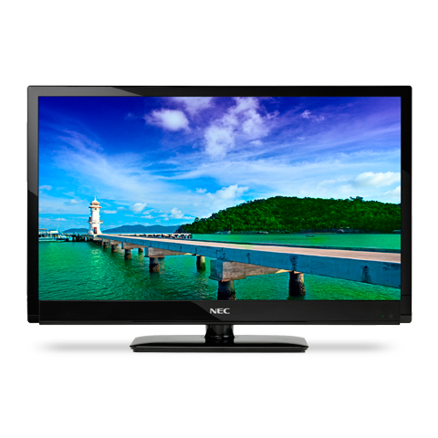 46-inch LED-Backlit, Commercial-Grade Large-Screen Display with Integrated Tuner