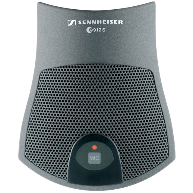 Sennheiser e912SBK Pre-polarized Condenser Mic, On/Off Membrane Switch