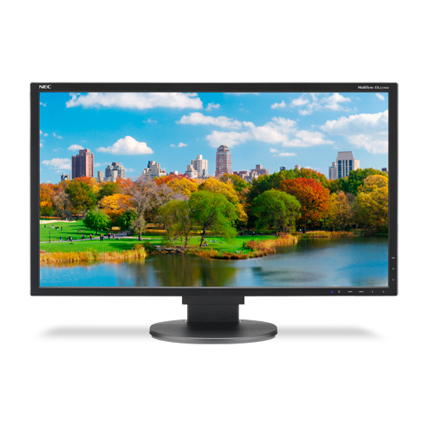 NEC EA223WM-BK 22-inch LED-Backlit Desktop Monitor with Adjustable Stand