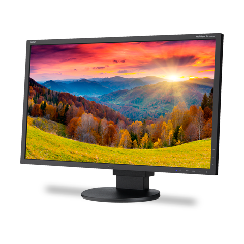 NEC EA244WMI-BK 24-inch Widescreen LED-Backlit Desktop Monitor with IPS Panel