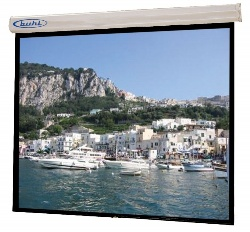Hamilton Buhl EC8484 Electric In-Line Wall Front Projection Screen (84x84
