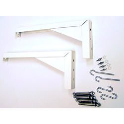 Elite ZVMAXLB12-W 12in White Brackets for VMAX/Manual Screens