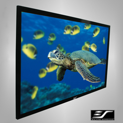 Elite R92WH1 ez Frame Series 92in. Fixed Frame 16:9 Projector Screen
