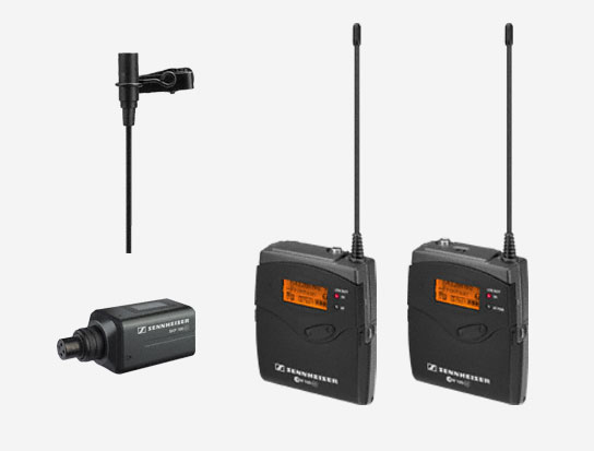 Omni-directional Wireless Audio Mic System, 566-608MHz RF Frequency Range
