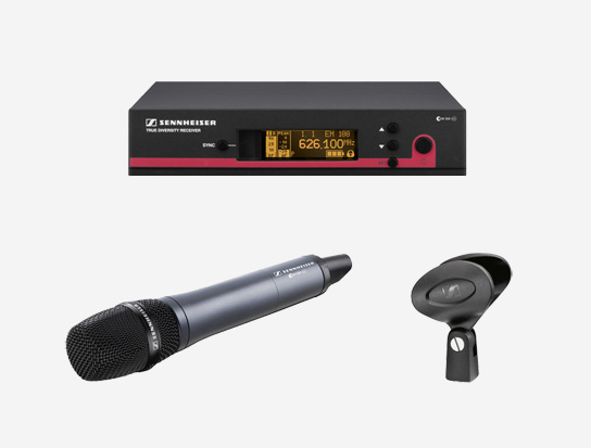 Sennheiser Wireless Handheld Microphone System, G3-G Band