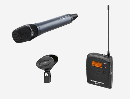 Dynamic Cardioid Microphone System, 566 to 608MHz RF Frequency Range