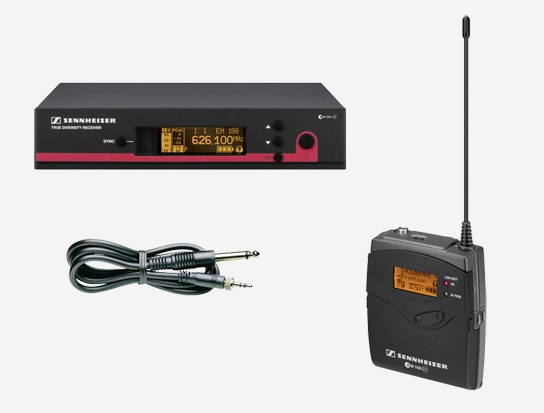 Guitar Wireless Audio Sound System, 30mW RF Output Power, 626-668MHz RF Range