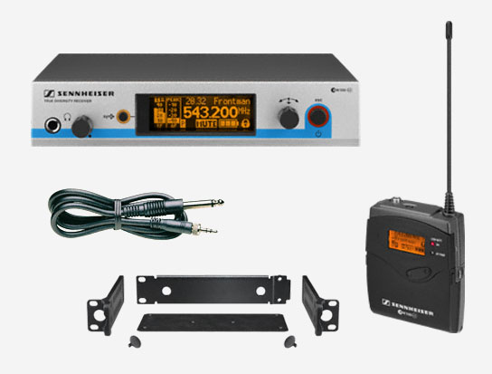 Guitar Wireless Audio Sound System, 566 to 608MHz RF Frequency Range