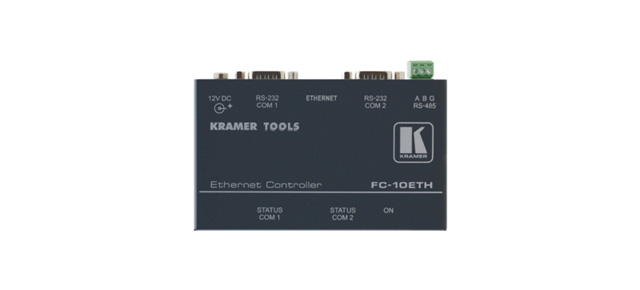 RS-232/RS-485 to Ethernet Converter