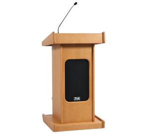 Anchor Audio LK-LIB Admiral Lectern with Liberty Platinum Package