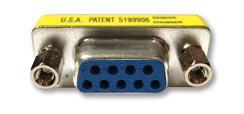 Kramer AD-D9F/D9F 9-pin D (F/F) Gender Changer