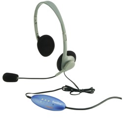 Hamilton Personal USB Headphones with Microphone