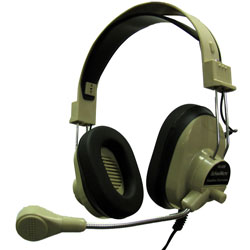 Hamilton HA-66M Deluxe Headphone with Microphone