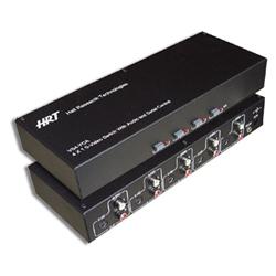HRT VS4-YCA 4x1 S-Video and Audio Switch