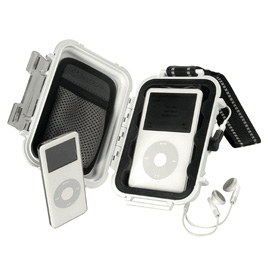 PELICAN i1010-White Ipod Micro Case