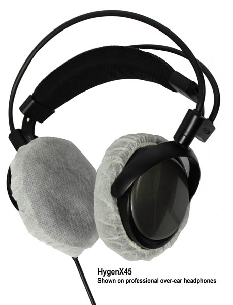 Hamilton HygenXCP45 HygenX Headphone Covers for Over-Ear Headsets, 600 Pair