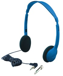 Hamilton Kids-HA2 Kids Personal Blue Mono/Stereo Headphones