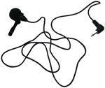 Amplivox S2030 Lapel Condenser Microphone