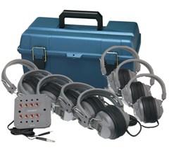 Hamilton LCP/JBP-6SV/HA5 LCB/JBP-6SV/HA5 Deluxe 6-User Listening Center