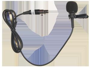 Anchor Audio LM-60 - Cardioid Lapel Mic with Mini XLR (TA4F) Connector