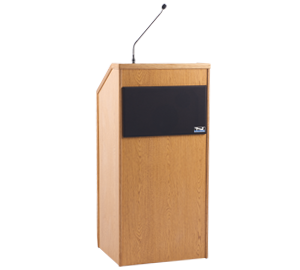 Anchor Audio LP-8000 Seville Lectern with Built-In PA System