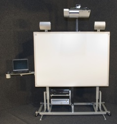 Hitachi Mobile Learning Cart and Wall Mount