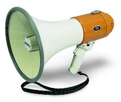 Hamilton Buhl MM-6S Mighty Bull Horn Megaphone w/ Siren