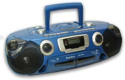 Hamilton MPC CD and Dual Cassette Boom Box