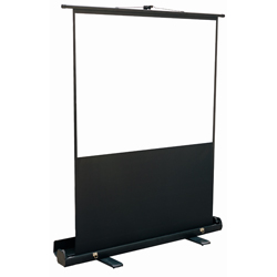 Mustang SC-P100D43 100in. Portable Front Projection Screen, Matte White (4:3)
