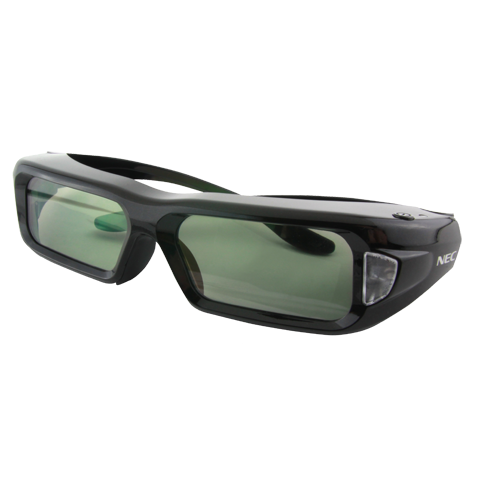 NEC NP02GL Active Shutter Glasses for NP115 NP215 NP216 NP-U300X Projectors