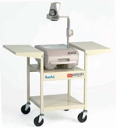 Hamilton Buhl 02129E Steel Overhead Projector Cart