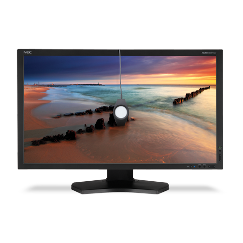 NEC P232WBKSV 23in. Widescreen Professional Desktop Monitor w/ SpectraView II