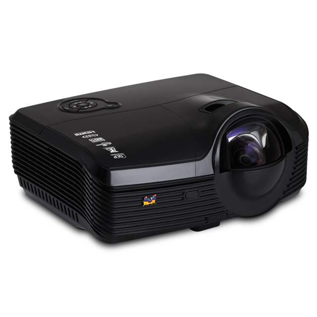ViewSonic Networkable Widescreen WXGA DLP Ultra Short-Throw Projector