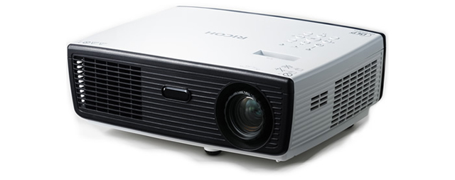 Ricoh PJ WX2130 2800 Lumens WXGA (1280 x 800) Portable Projector