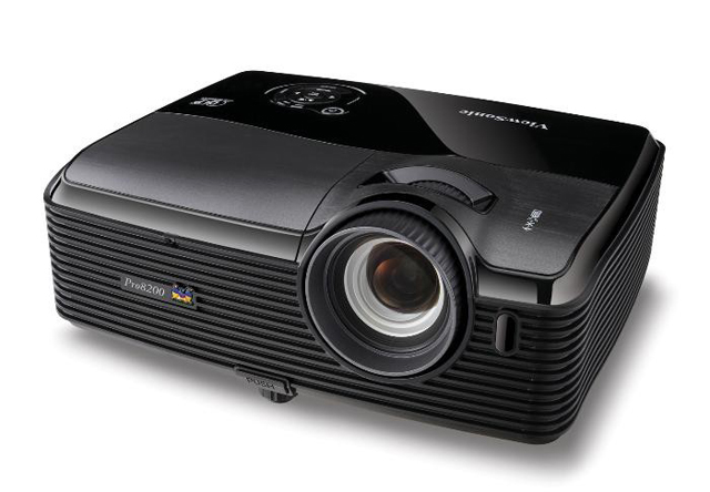 ViewSonic Pro8200 Full HD 1080P DLP Professional Grade Home Entertainment Projector