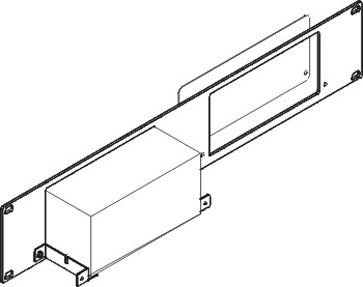 Kramer RK-4X 19-Inch Rack Adapter for Selected Desktop Models