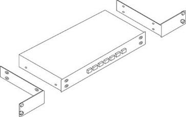 Kramer RK-81X 19-Inch Rack Adapter for Selected Desktop Models