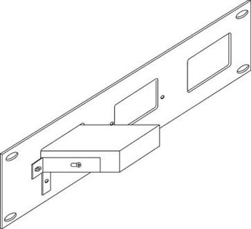 Kramer RK-SM 19-Inch Rack Adapter for Selected Desktop Models