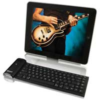 Hamilton RUI-KB Bluetooth Keyboard, Stand for iPad